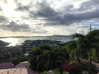 View of St Thomas from St. John, USVI