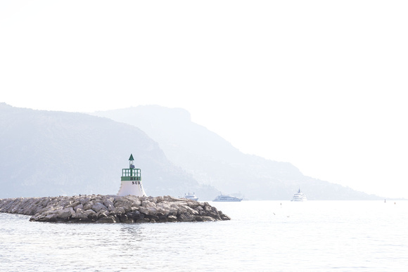 Morning Haze - French Riviera art print by Cattie Coyle Photography sm