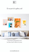French Riviera photography gallery wall by Cattie Coyle